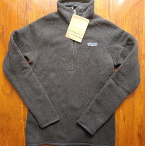 Patagonia Better Sweater Pullover  NWT Black XS